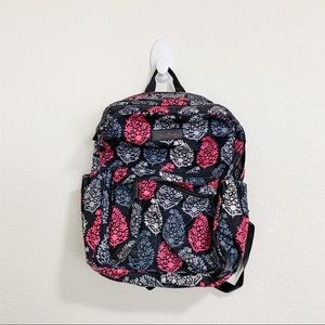 Vera Bradley Pink and Black Backpack